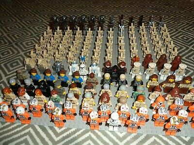 152 X LEGO STAR WARS GENUINE  Minifigures LOT - MASSIVE COLLECTION