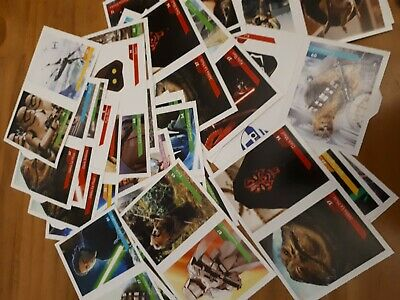 3 stickers images star wars leclerc 2019  au choix