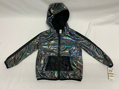 Ideology Toddler Girls Active Wear Jacket Mermaid Windbreaker Top Size 3T New