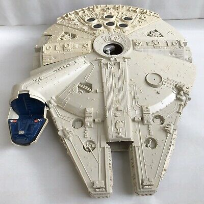 "Vintage STAR WARS Millennium Falcon Kenner 1979 Incomplete 21"" Space Ship Toy"