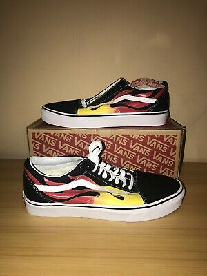 VANS OLD SKOOL Flames (Men 9 Women 11) NEW IN BOX $52.00