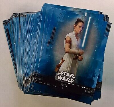 2019 Topps Star Wars Rise of Skywalker Series 1 BLUE BASE CARDS (Pick Your Own)