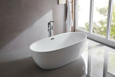 Bathroom Acrylic Free Standing Bath Tub 1860x885x605 Model Carrara