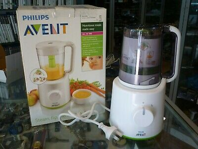 New Philips Avent Combined Steamer Blender In Box - Opened Never Used.