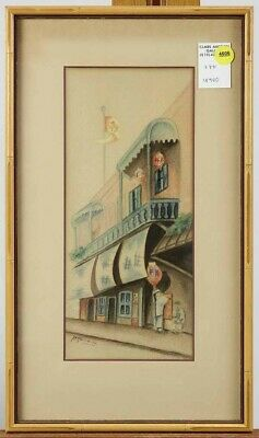 1930 Chinatown, San Francisco, Pearl Ransom, California Artist Listed REDUCED!!