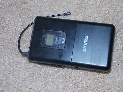 Shure SLX1 J3 572-596MHz Wireless bodypack Transmitter only excellent condition