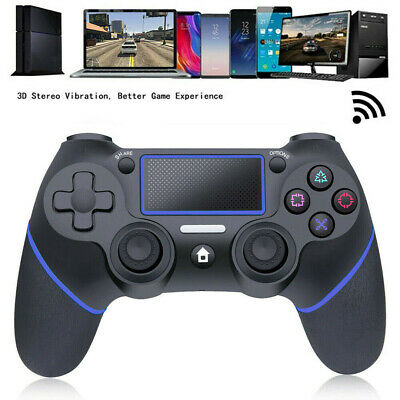 For SONY PS4 DUALSHOCK 4 Wireless Controller Gamepad PlayStation bluetooth US