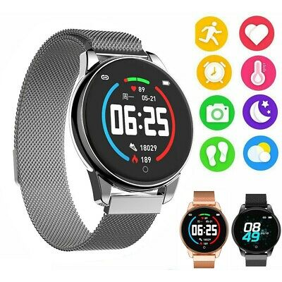 Smart Watch Running Pedometer Heart Rate Sport Blood Pressure Fitness Tracker SU