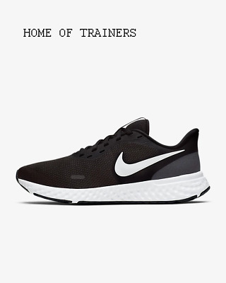 Nike Revolution 5 Black Anthracite White Girls Women's Trainers All Sizes