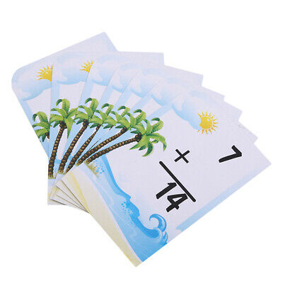 Children Education Digital Fraction Card Kids 36 English Cards Learning Game ONE