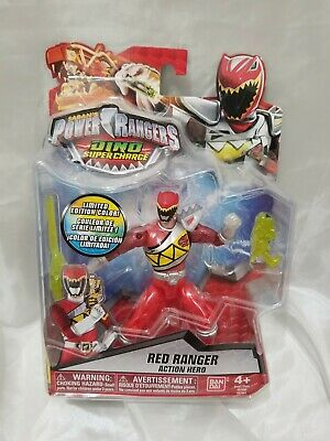 POWER RANGERS DINO SUPERCHARGE BLACK RANGER 97605 CHASE LIMITED EDITION COLOR