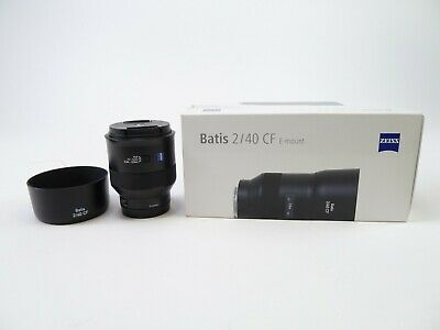 Zeiss Batis 40mm f/2 2/40 CF for Sony E Mount in Excellent Condition w box
