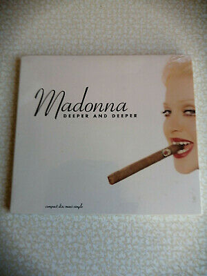 Madonna - Deeper And Deeper - Cd Usa  7 Tracks Digipack- Sealed
