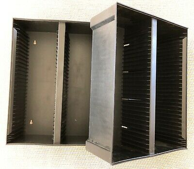 Alpha 60 CD Storage Stand or Wall Mount Black Plastic