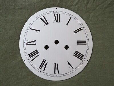 Old Oryginal Enamel Dial For French Clock  - Comtoise