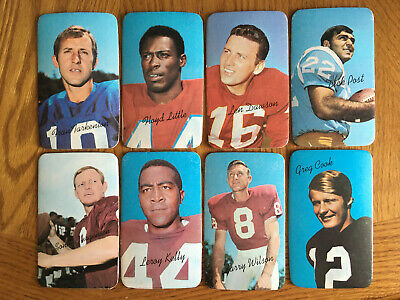 1970 Topps Super Football Pick Cards You Want