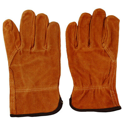 Durable Wear-Resistant Driver Electric Welder Labor Protect Gloves ONE