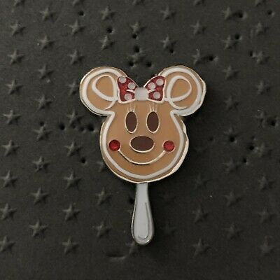 Disney Parks 2019 Christmas Holidays Mickey Snacks Minnie Gingerbread Pin