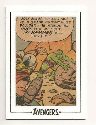 Avengers: Silver Age Archive Cuts Panel  AVGOLD 1   RARE!!   Hulk/Thor