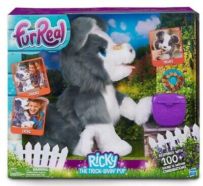 furReal Ricky, the Trick-Lovin' Pup Interactive Toy 100+ Sound and Motion Age 4+