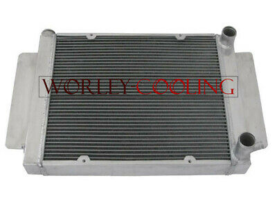 3 core aluminum radiator for Mazda RX2 RX3 RX4 RX5 with heater pipe manual