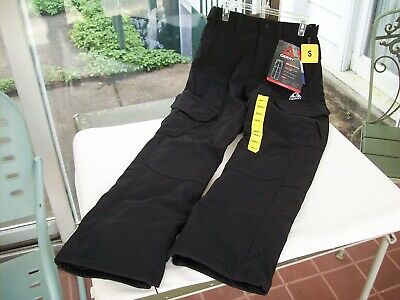 nwt GERRY Men's S SNOW TECH Black Insulated Ski Snowboard Pant Fleece Lined new