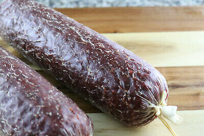 Fibrous Casings for Summer Sausage/Salami w/Meat cling for 2 1/2 lb chub -10 pc