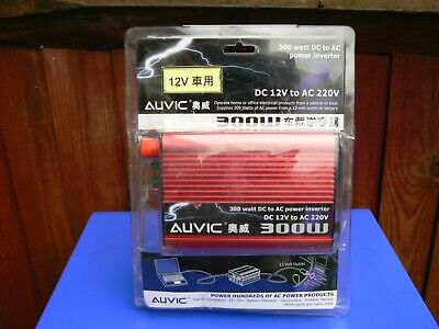 Auvic 12wDC to 220wAC Power Inverter 300W
