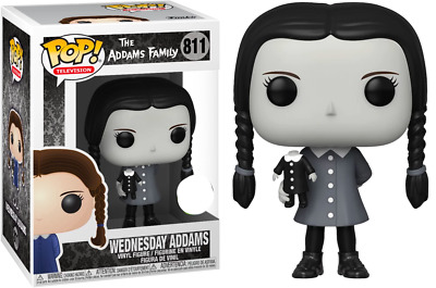 FUNKO POP! The Addams Family (1964) - Wednesday Addams Black & White - Limited