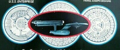 Vintage STAR TREK Blueprints 4th + Fleet Technical Manual 1st Print 1975 Book