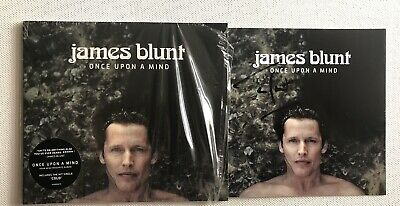 James Blunt - Once Upon A Mind Cd Album Brand New Hand Signed Autographed**