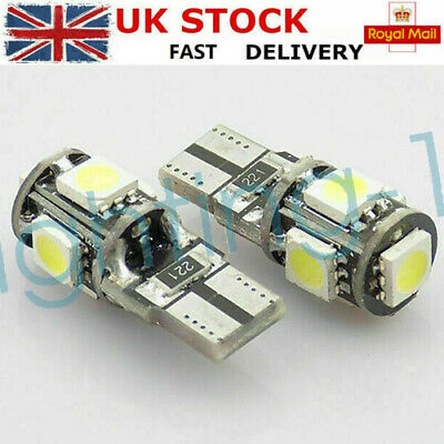1x Vauxhall Corsa MK2//C Bright Xenon White Superlux LED Number Plate Light Bulb