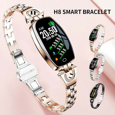 Waterproof Bluetooth Smart Watch Ladies Phone Mate For Android iPhone Women Girl