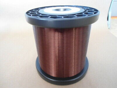 42 AWG Plain Enamel Copper Magnet Wire 5.2 lbs