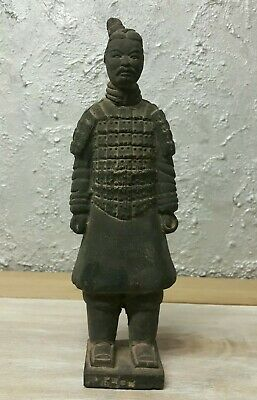 Antique Oriental Chinese Terracotta Warrior Chinese, Army Qin Shi Soldier Statue