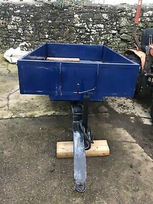 Oxdale 1.5 Ton Tipping Trailer, Shop Soiled, Compact Tractor  *No Vat*