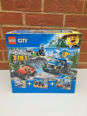 LEGO SUPER PACK 3 IN 1 - CREATOR 31072 / CITY 60180 / CITY 60172 brand new