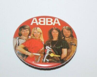 Abba Group Photo Badge Music Collectable (Lot 8)