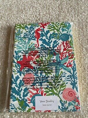 Vera Bradley Small Journal / Shore Thing – NIP