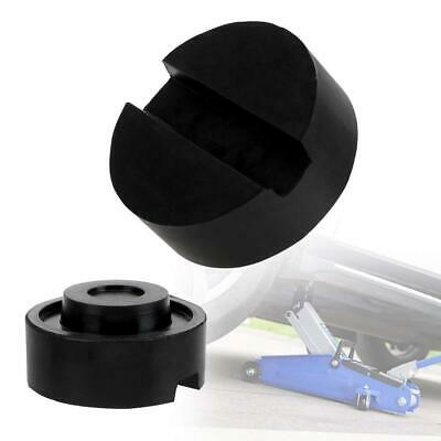 Universal Car Slotted Support Block Floor Jack Rubber Pad Adapter For Weld