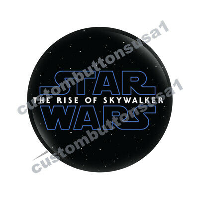 STAR WARS: THE RISE OF SKYWALKER BUTTON - Movie Promo Pinback 2019