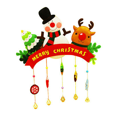 Christmas Style Felt Applique Kit Handmade Felt Materials DIY Package Decor