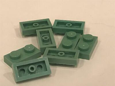 LEGO Parts~ 1x2 Plate 3023 OLIVE GREEN 8