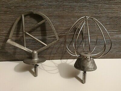 Kenwood Chef K Beater And Balloon Whisk Slot/Twist Fit Vintage