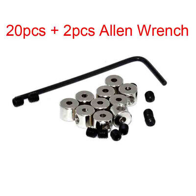 24 New PIN KEEPERS Biker Locking Back Savers w-Allen Wrench