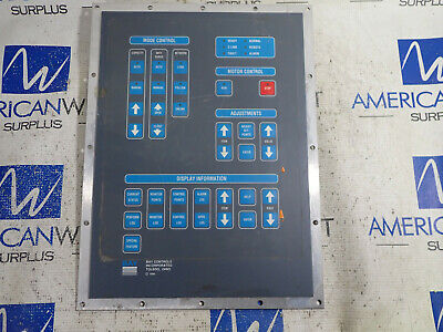 Bay Controls ProTech Contol Face Plate ONLY Keypad Touch Pad *USED