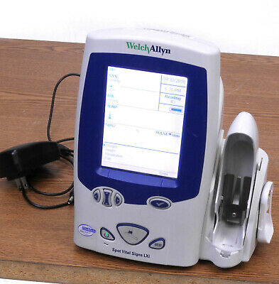 Welch Allyn Spot Vital Sign LXI 45NEO + Battery and Charger