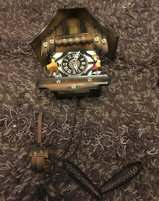West German Cuckoo Clock (Albert Schwab) vintage, traditional Clock
