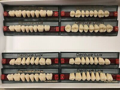 Composite Denture Teeth Shade A2 NEW