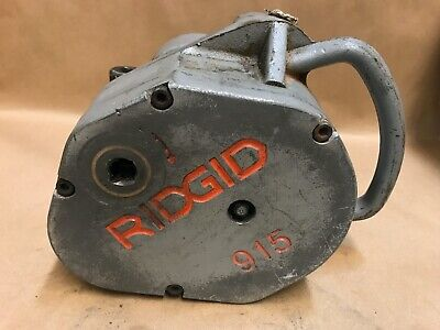 RIDGID 915 Manual Pipe Roll Groover